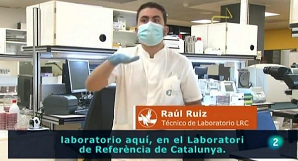 Participació de l'LRC en un reportatge per RTVE