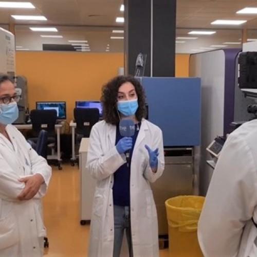 """Intervenció del Laboratori de Referència de Catalunya al programa """"La hora de la 1"""" de TVE"""