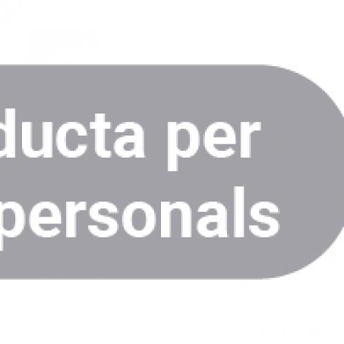 Adhesió al Codi de Conducta per al tractament de dades personals